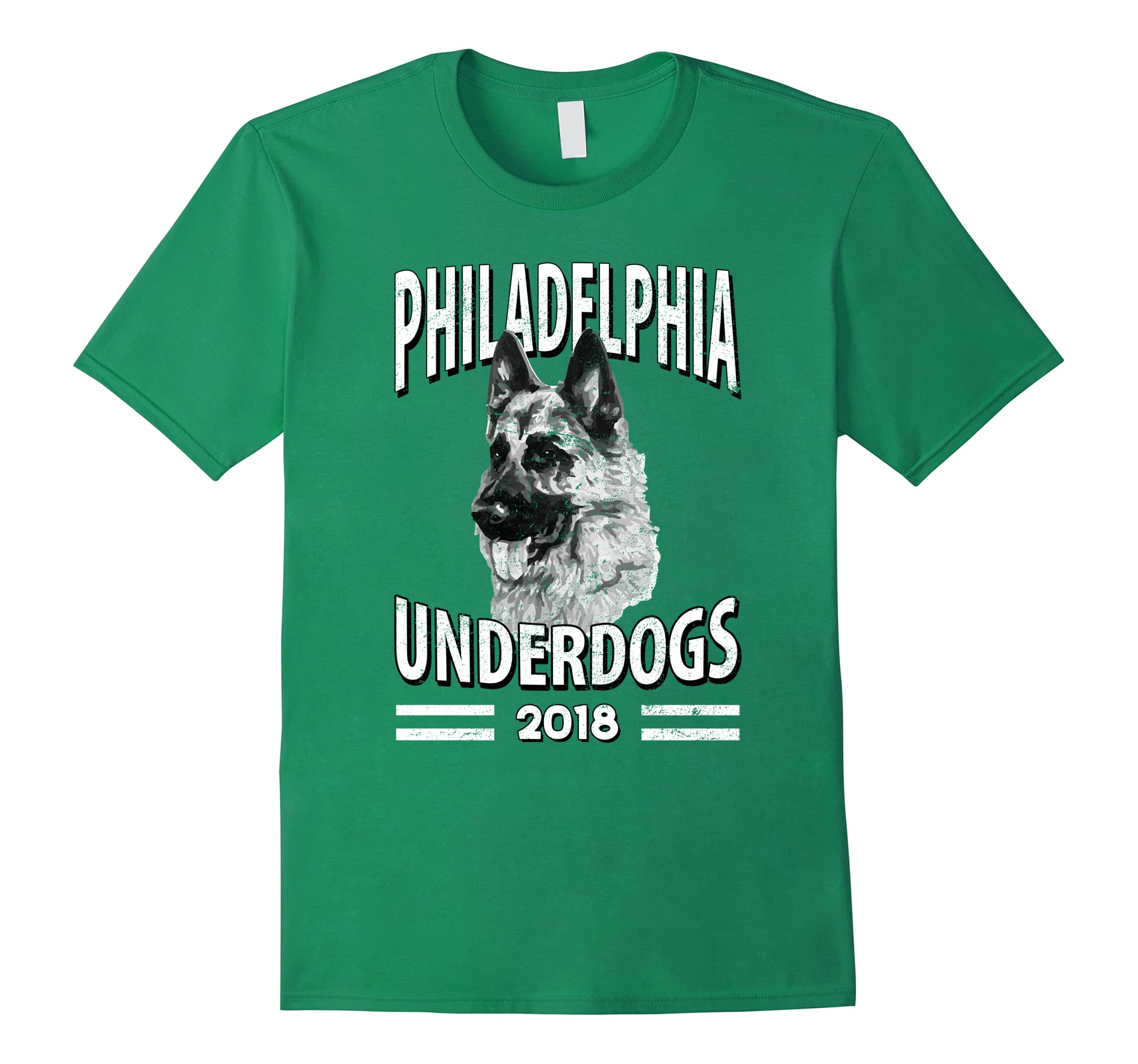 Philadelphia Underdogs 2018 Distressed Look Funny T-Shirt-ah my shirt one gift