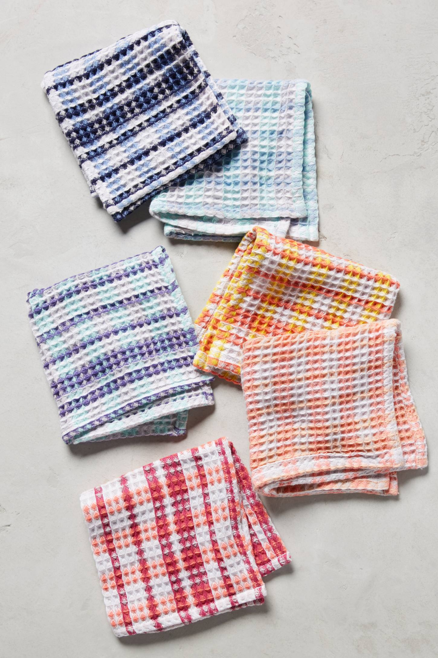 Plaid Dishcloth Set | Anthropologie