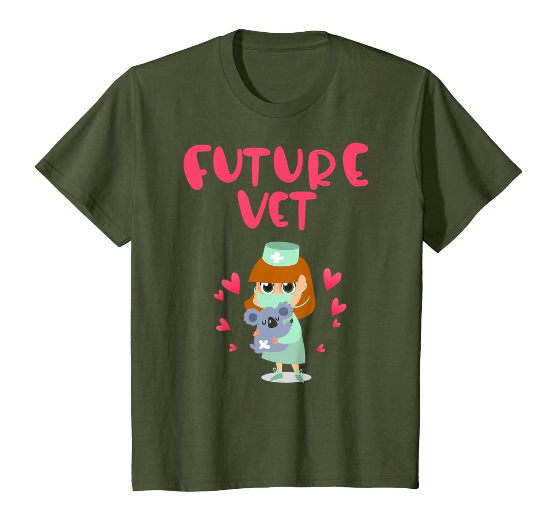 Vet Veterinarians Future Vet for Girls Dream Jobs Doctor T-Shirt
