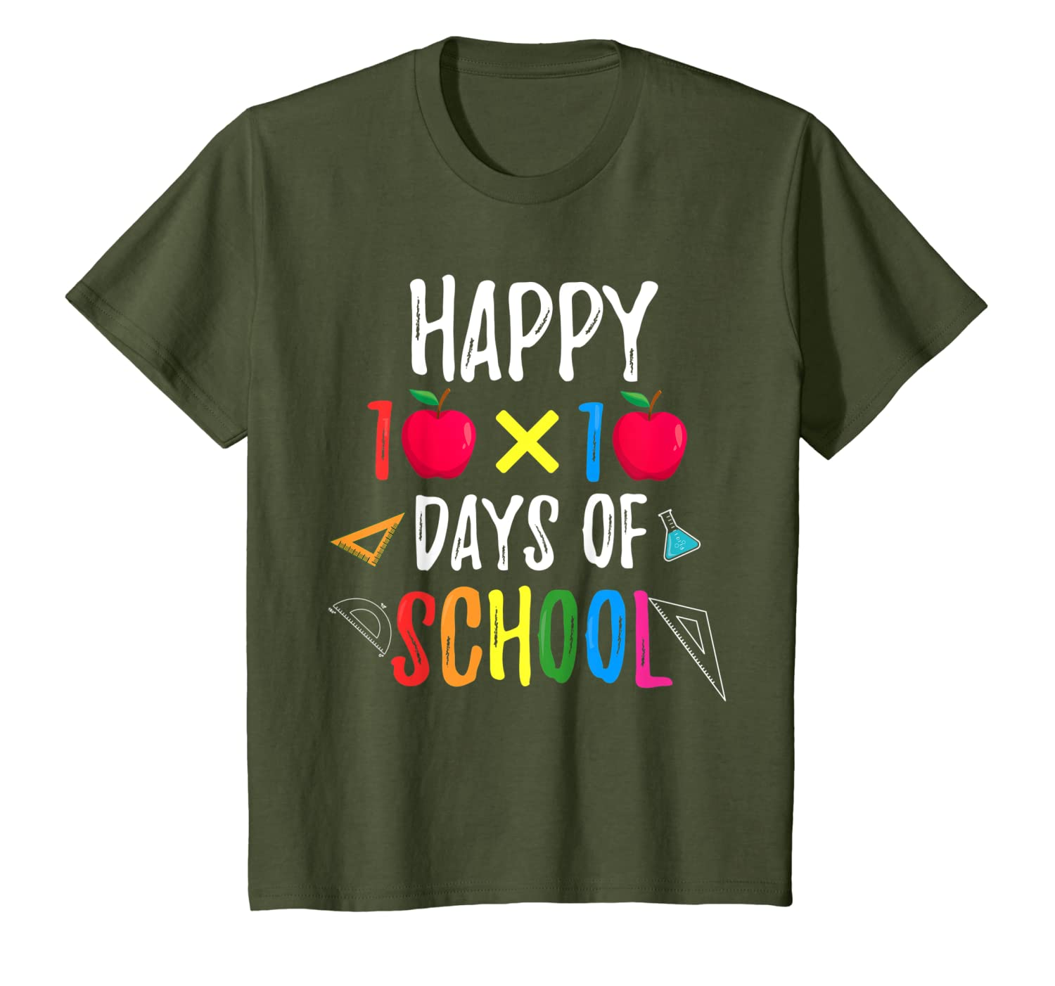 100 day of school shirt For Teacher & Student Kid cute gift T-Shirt