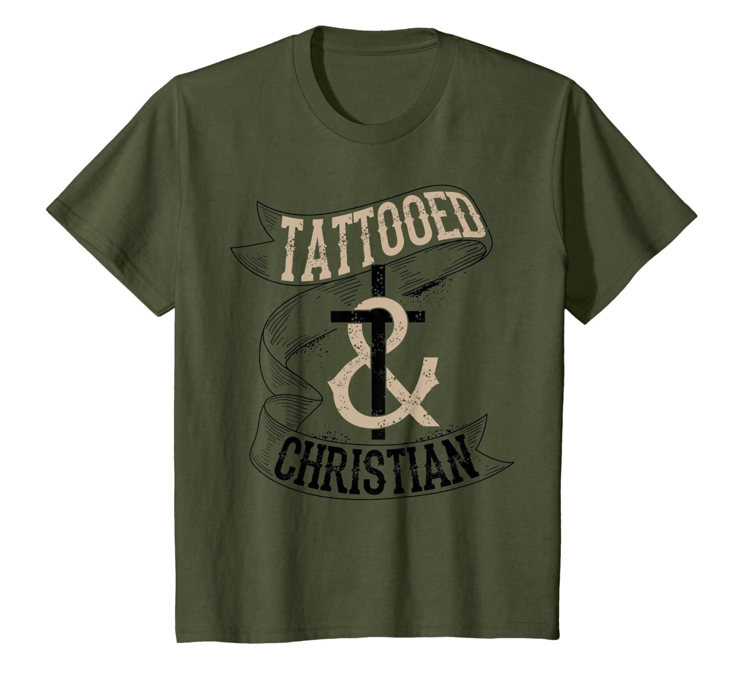 Cool Tattooed & Christian  Cute Inked Lover Believer Gift T-Shirt