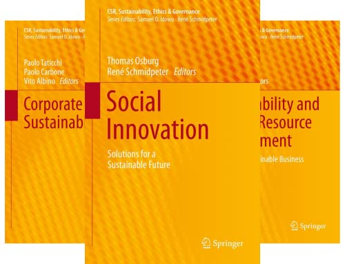 CSR, Sustainability, Ethics & Governance (50 Book Series)