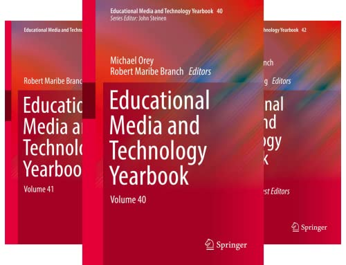Educational Media and Technology Yearbook (3 Book Series)