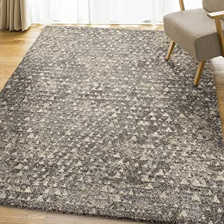Orian Rugs Super Shag Collection 392418 Timberlane Area Rug, 7'10