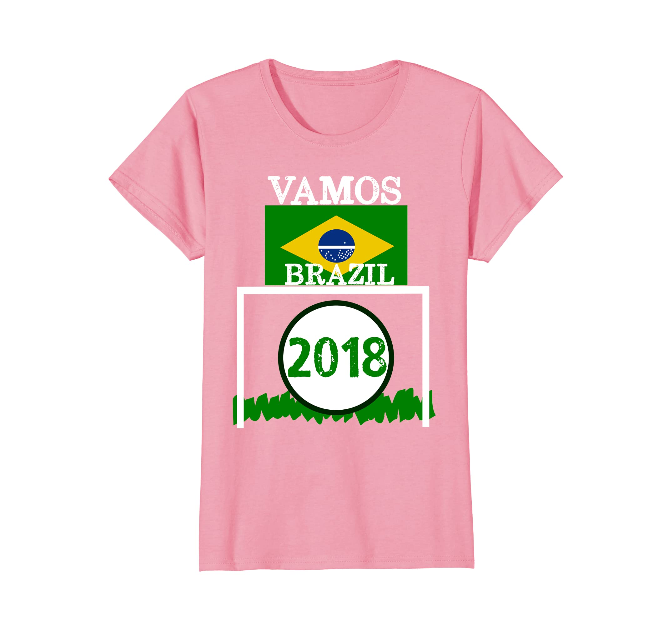 Amazon.com: VAMOS BRAZIL 2018 CAMISETA FLAG FUTBOL - MEN WOMEN T SHIRT: Clothing