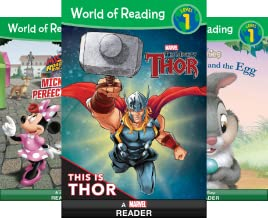 World of Reading: Level 1 (51-66) (16 Book Series)