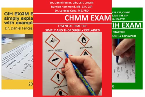 The Certified Occupational and Environmental Health Professional by Dr. Daniel Farcas CIH, CSP, CHMM (6 Book Series)