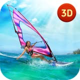Top Wave Extreme Windsurfing Game: Summer Water Sailing Sports Racing | Athletic Simulator