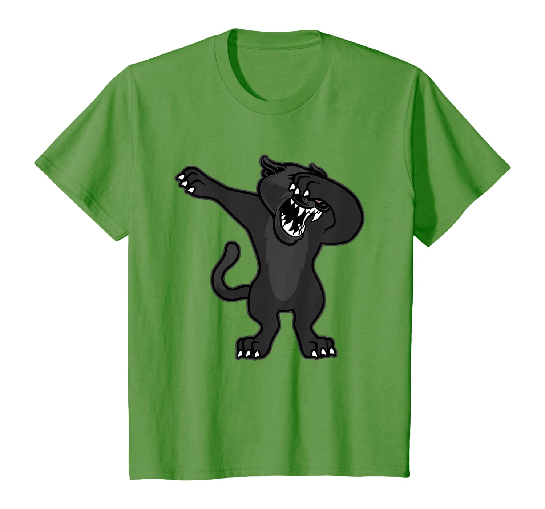 Cool Dabbing Panther Black Big Cat Dab Dancing Jungle Animal T-shirt Unisex Tshirt