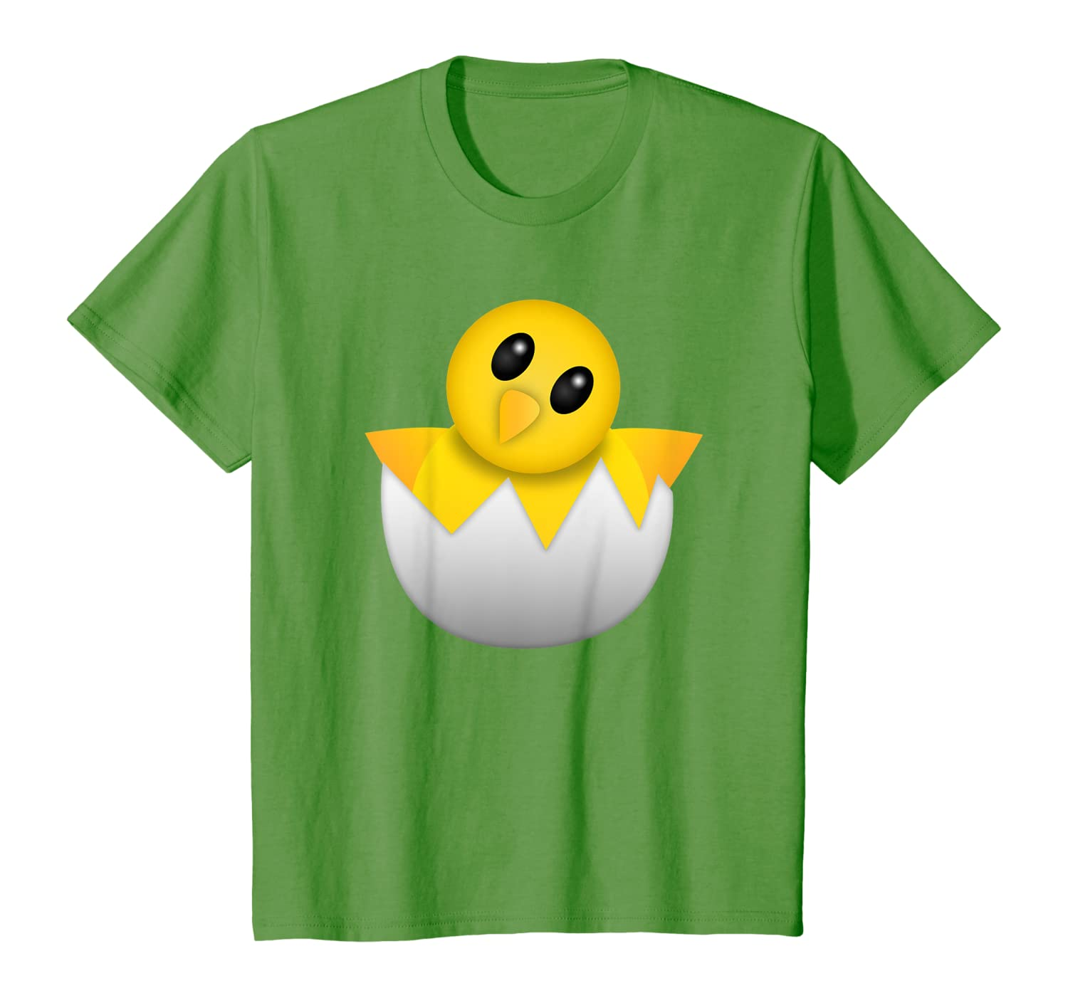 Cute Baby Chicken Chick Face Emoticon T-Shirt