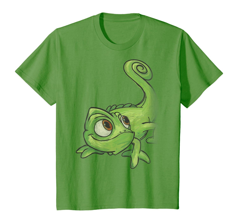 Amazon Com Disney Tangled Pascal Sketch T Shirt Clothing