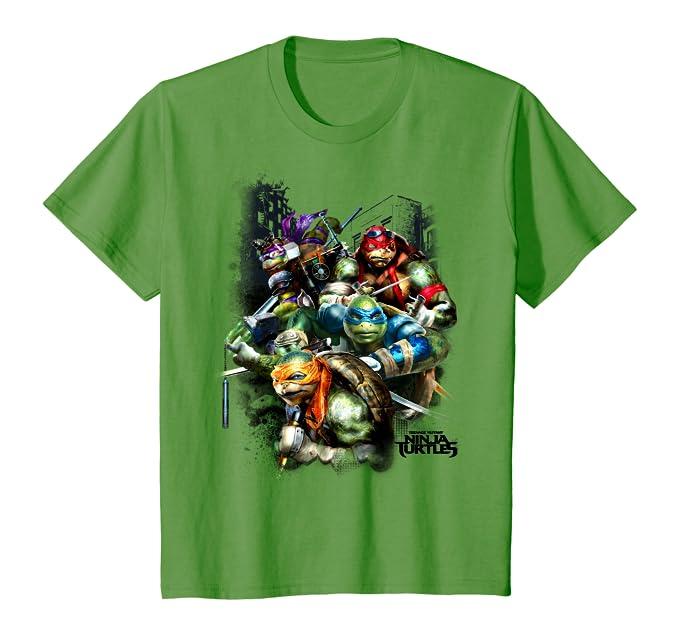 Amazon.com: Teenage Mutant Ninja Turtle Movie Graphic T ...