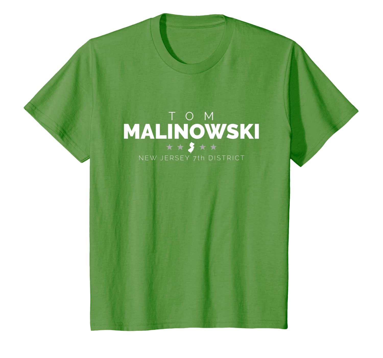New Jersey Primary 2020.Amazon Com Tom Malinowski New Jersey 7th 2020 Campaign T