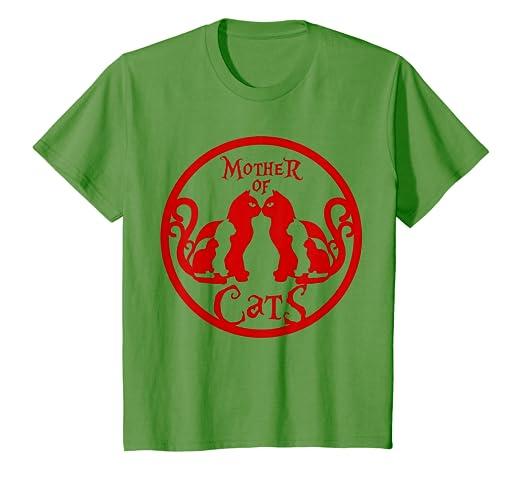 Amazon.com: Madre de gatos Camisa | Animal Camisetas, hombre ...