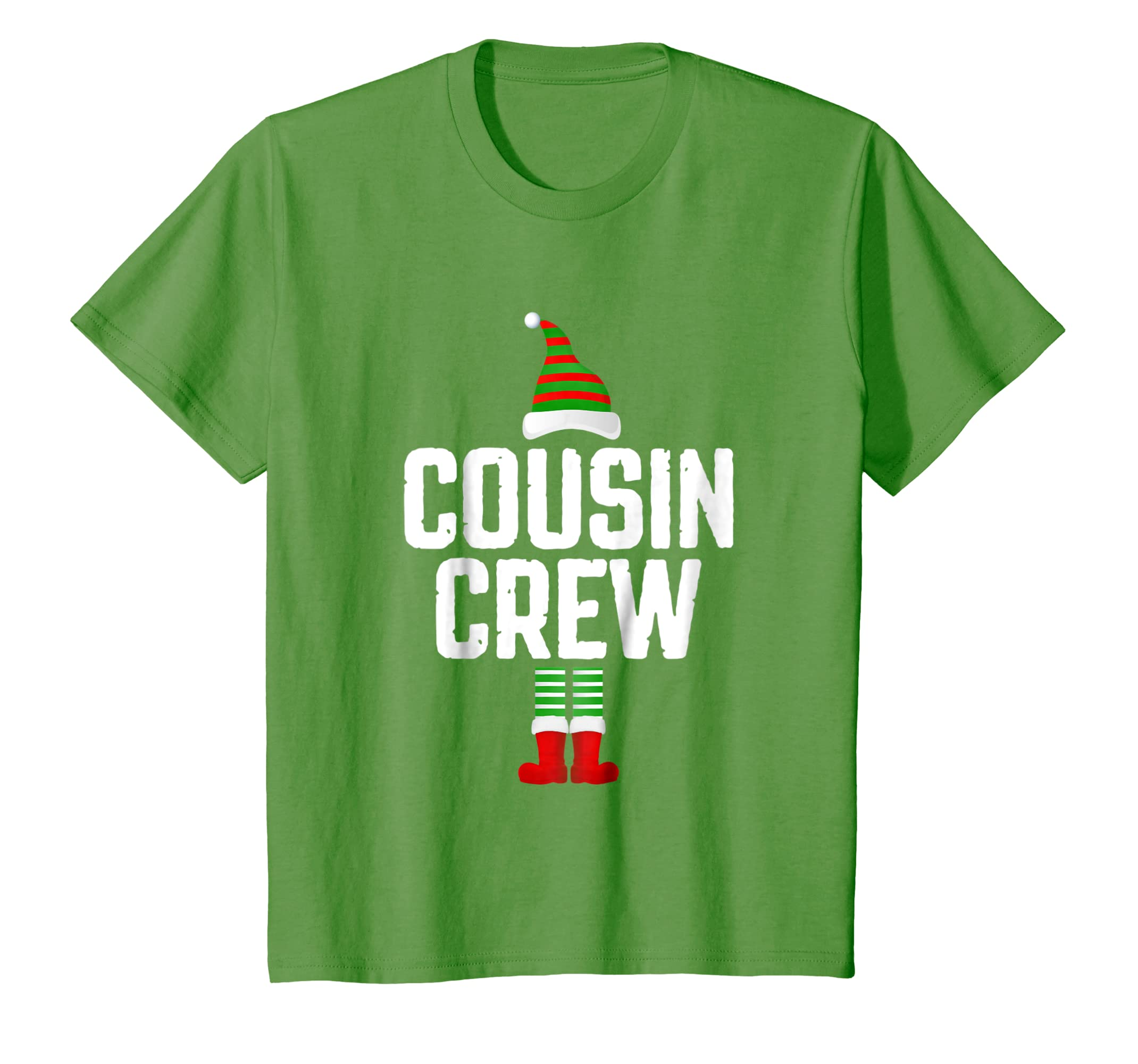 Cousin Crew Elf Shirt Family Matching Christmas Pajamas