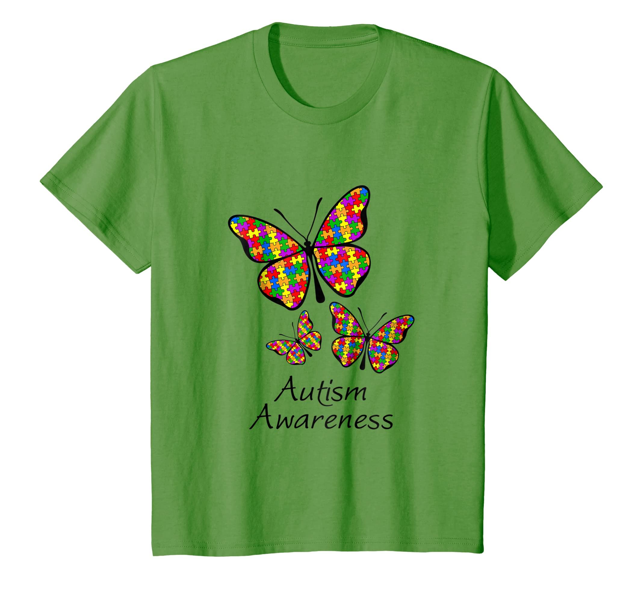 e772453200 Amazon.com: Butterfly Autism Awareness T-shirt Embrace Amazing puzzle:  Clothing