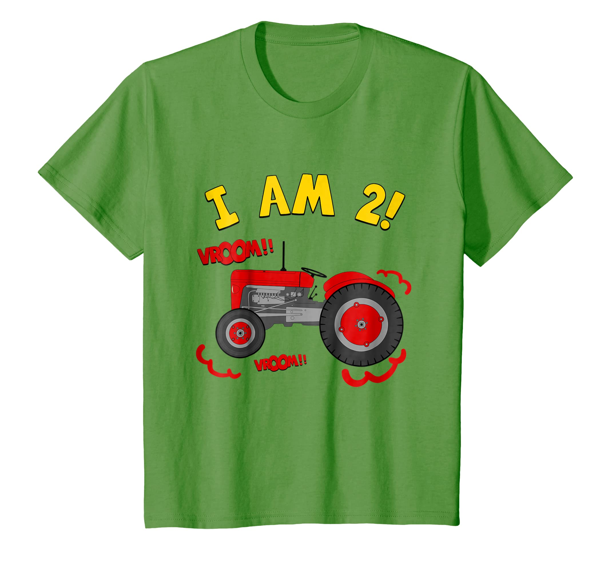 Amazon Kids 2nd Birthday Tractor T Shirt 2 Year Farm Tee Clothing