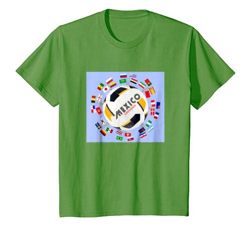 Amazon.com: Kids Seleccion Mexicana Futbol 2018 | Mexico Soccer Jersey Shirt: Clothing