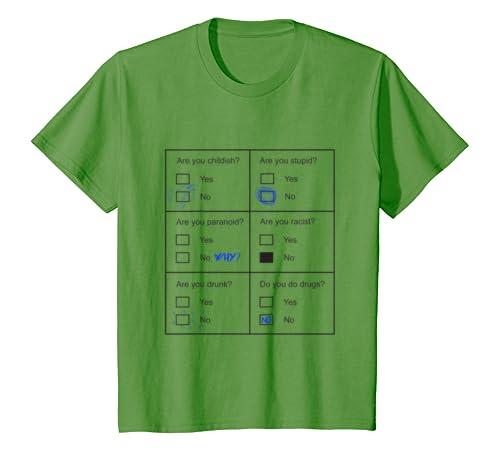 ac4fb942 Amazon.com: Funny Psychology T-Shirt with Psychological Test: Clothing