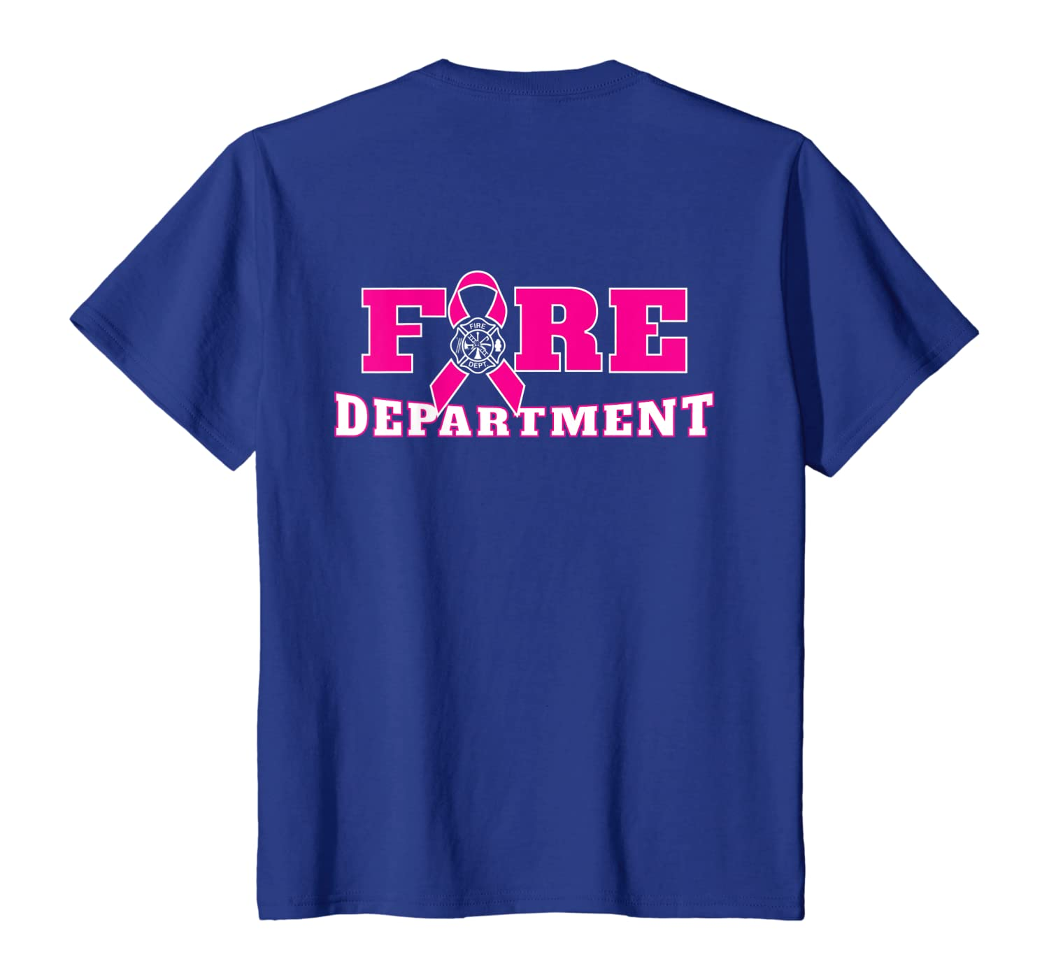 Amazon Com Breast Cancer Awareness Fire Department Pink Ribbon