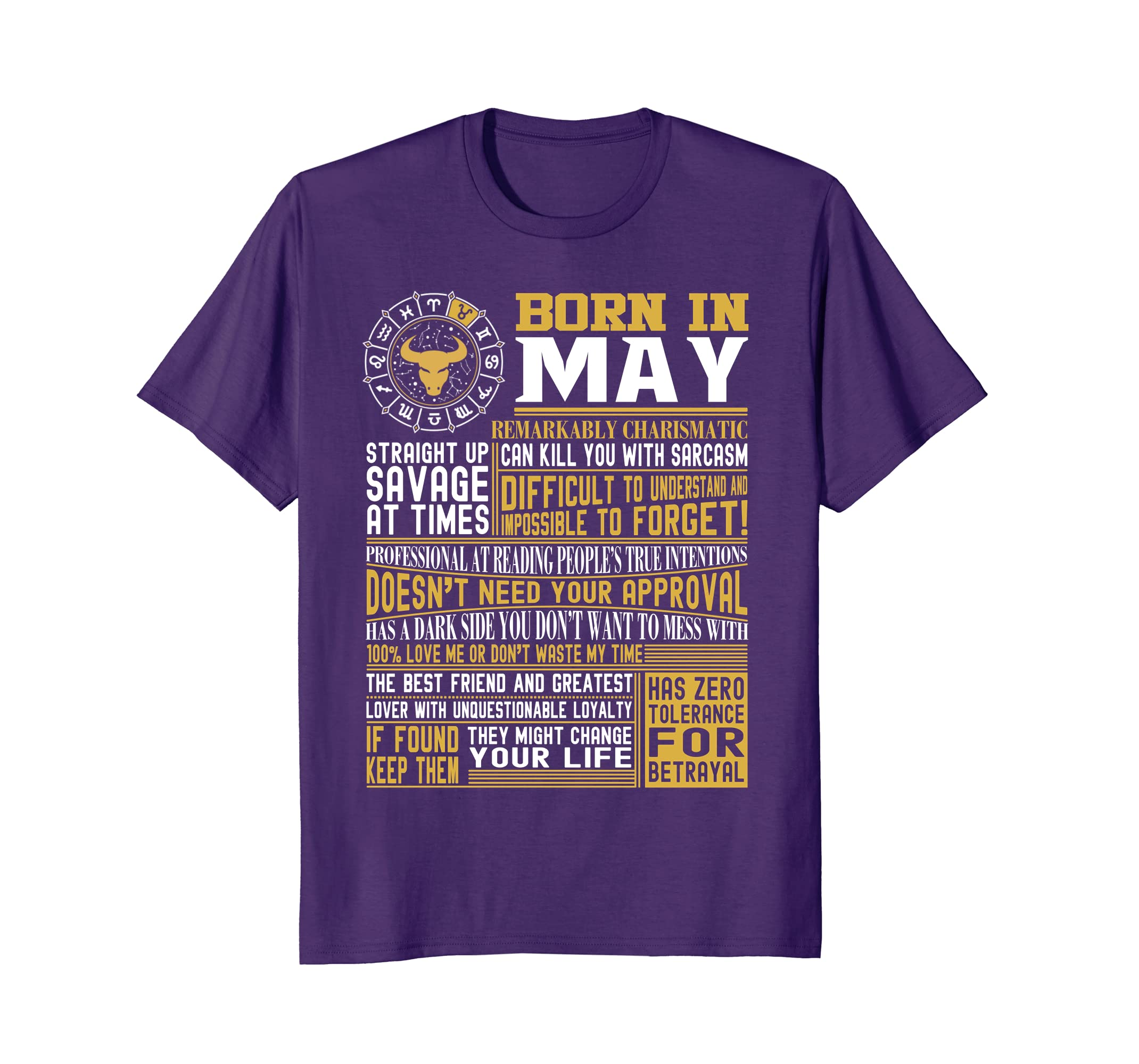 3d25f5313935 Best selling Born in May Facts Shirts for Mens