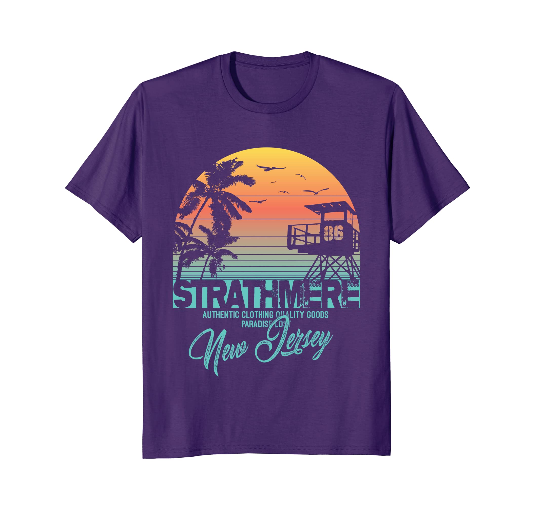eceac1724 Amazon.com: strathmere New Jersey beach shirt upper twp: Clothing