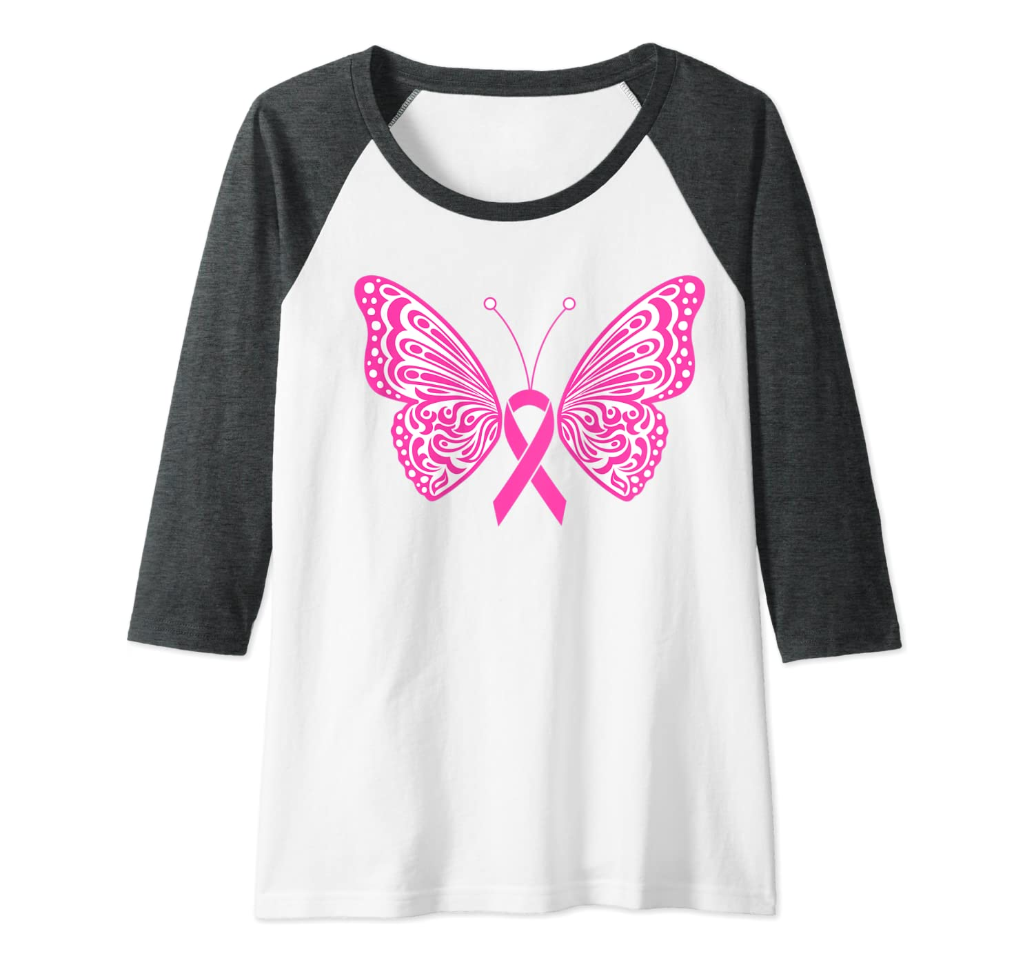 Amazon Com Womens Breast Cancer Awareness Pink Ribbon Tribal