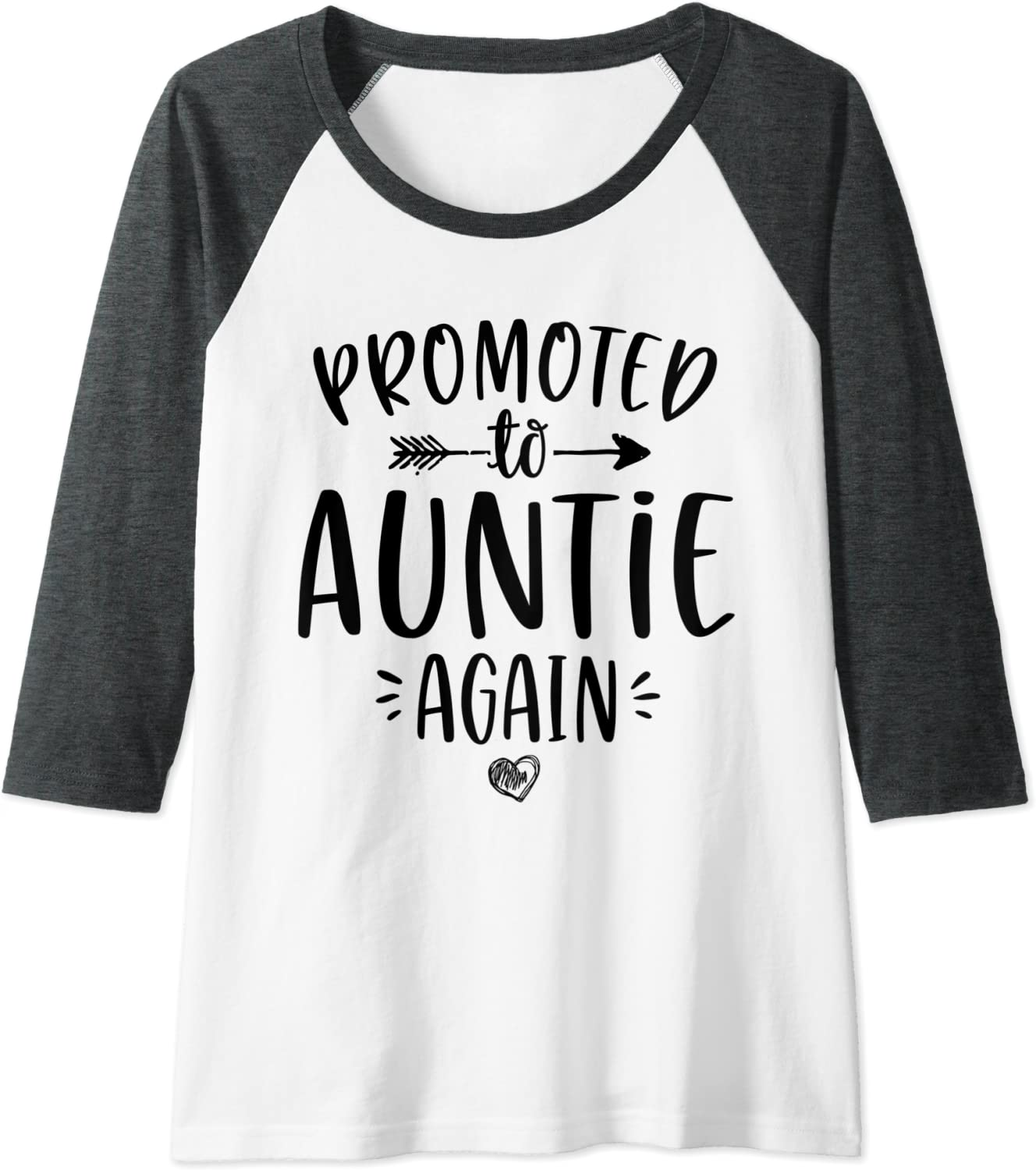 Promoted To Auntie T Shirt Aunt Gift Best Aunt Tee Gift For Sister Aunt T- Shirt Mothers Day Gift Auntie Shirt Sister T-Shirt