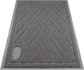 Pawkin Cat Litter Mat, Patented Design with Litter Lock Mesh, Durable, Easy to Clean,..