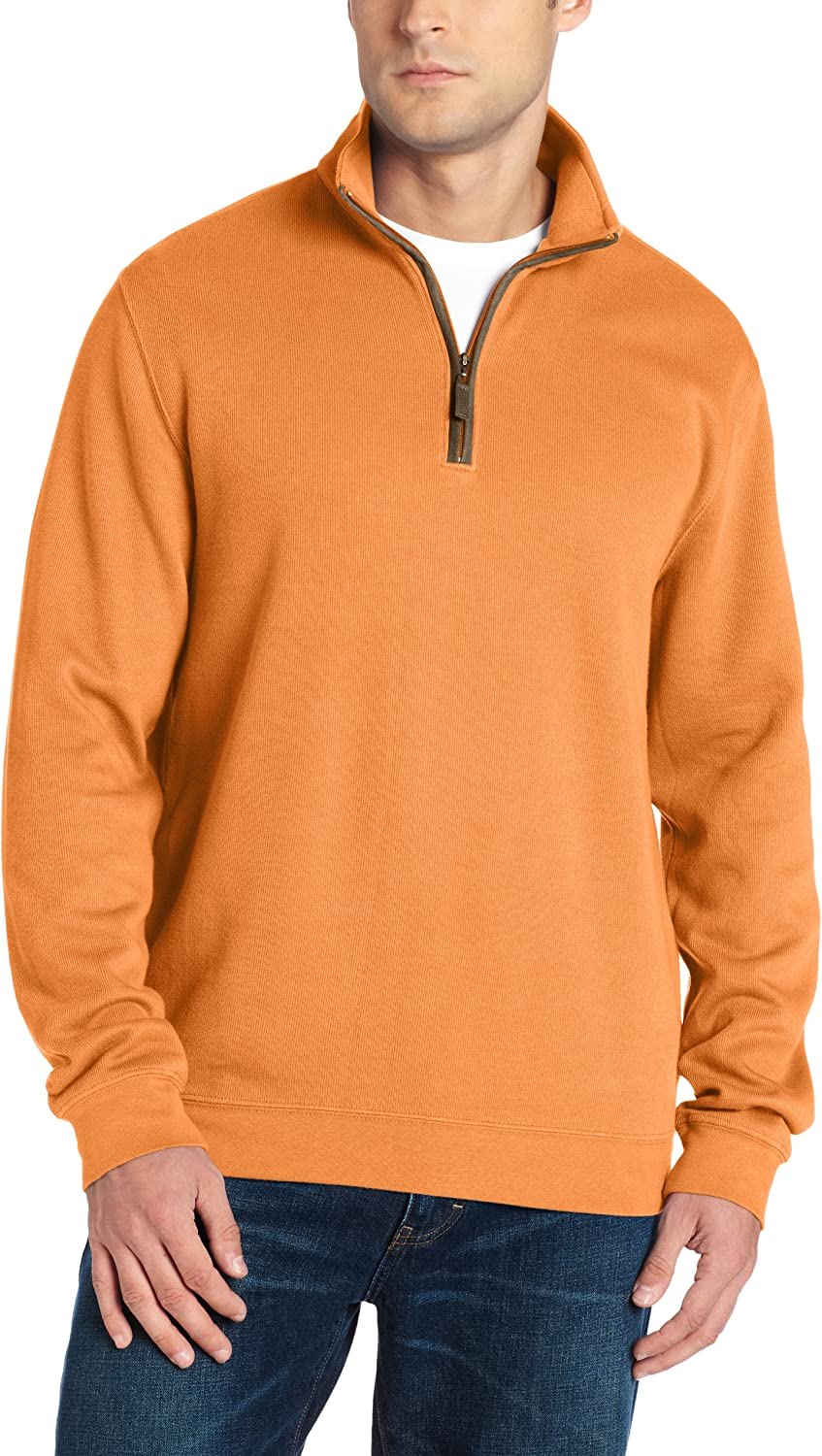 Greg Norman Collection Men's Contemporary 1 sold out Popular popular Zip Mock Pullover 4