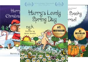 Harry The Happy Mouse (5 Book Series)