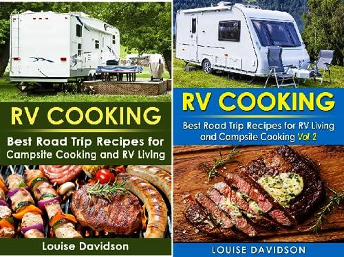Camper RVing Recipe Books (2 Book Series)