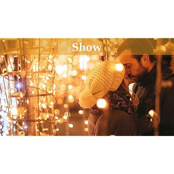 Cascata luci,Catena Luminosa,Tenda Luminosa,Tende 440 LED con telecomando,Cascata led,tenda led con 9 modalità,tenda a catena bianca calda e bianca fredda Natale, matrimonio,festa,cortile,finestra 7 spesavip