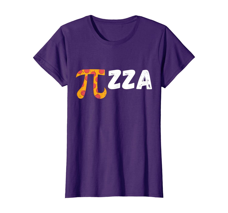 Funny Pi Day Pizza Shirt Pizza Lover Math Teacher Gift Tee-Awarplus