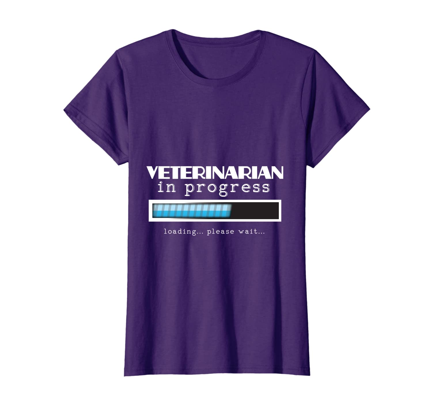 Veterinarian Progress Funny Vet Graduation Gift T-shirt DVM