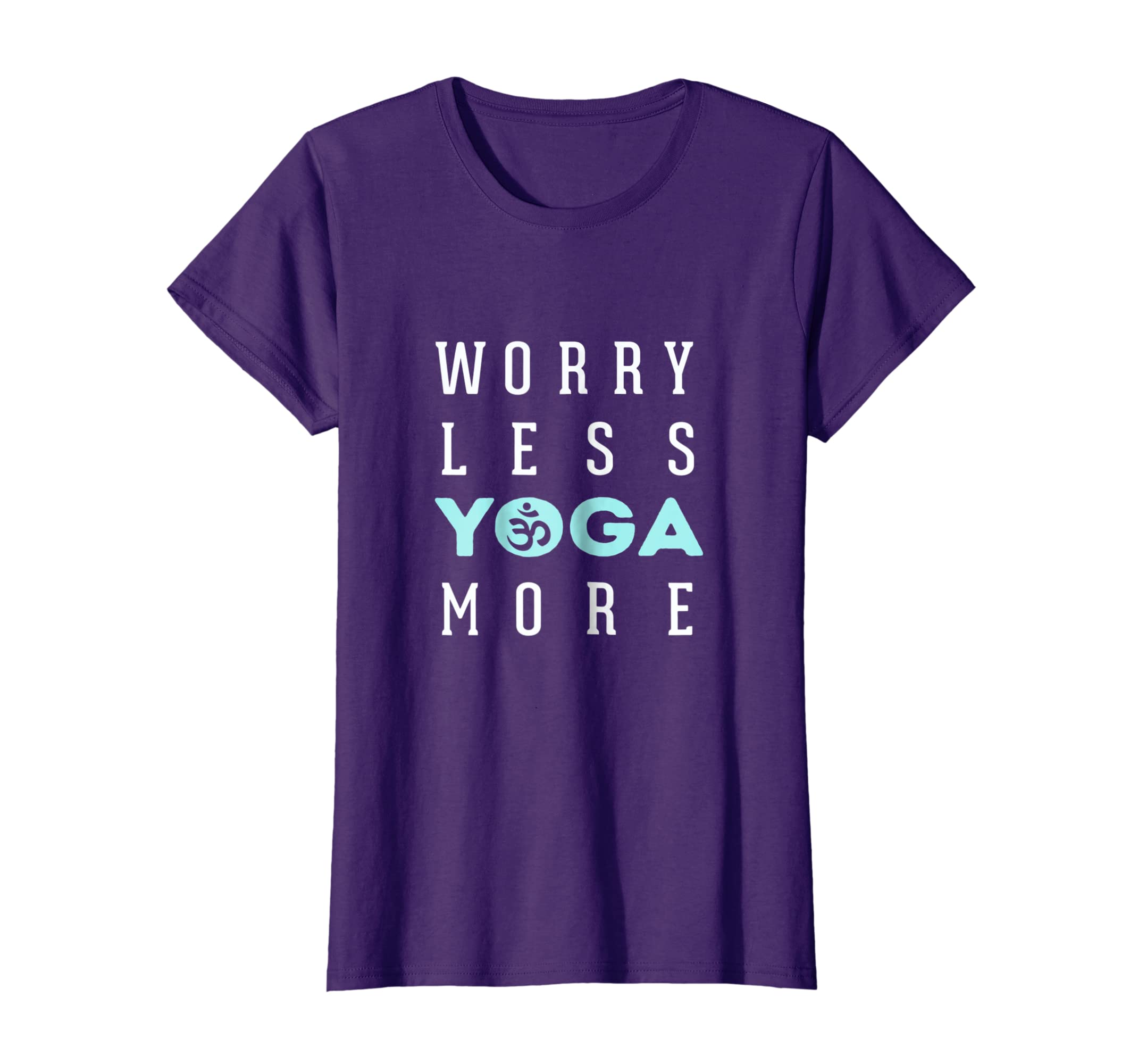 Amazon.com: Worry less Yoga more t-shirt tee: Clothing