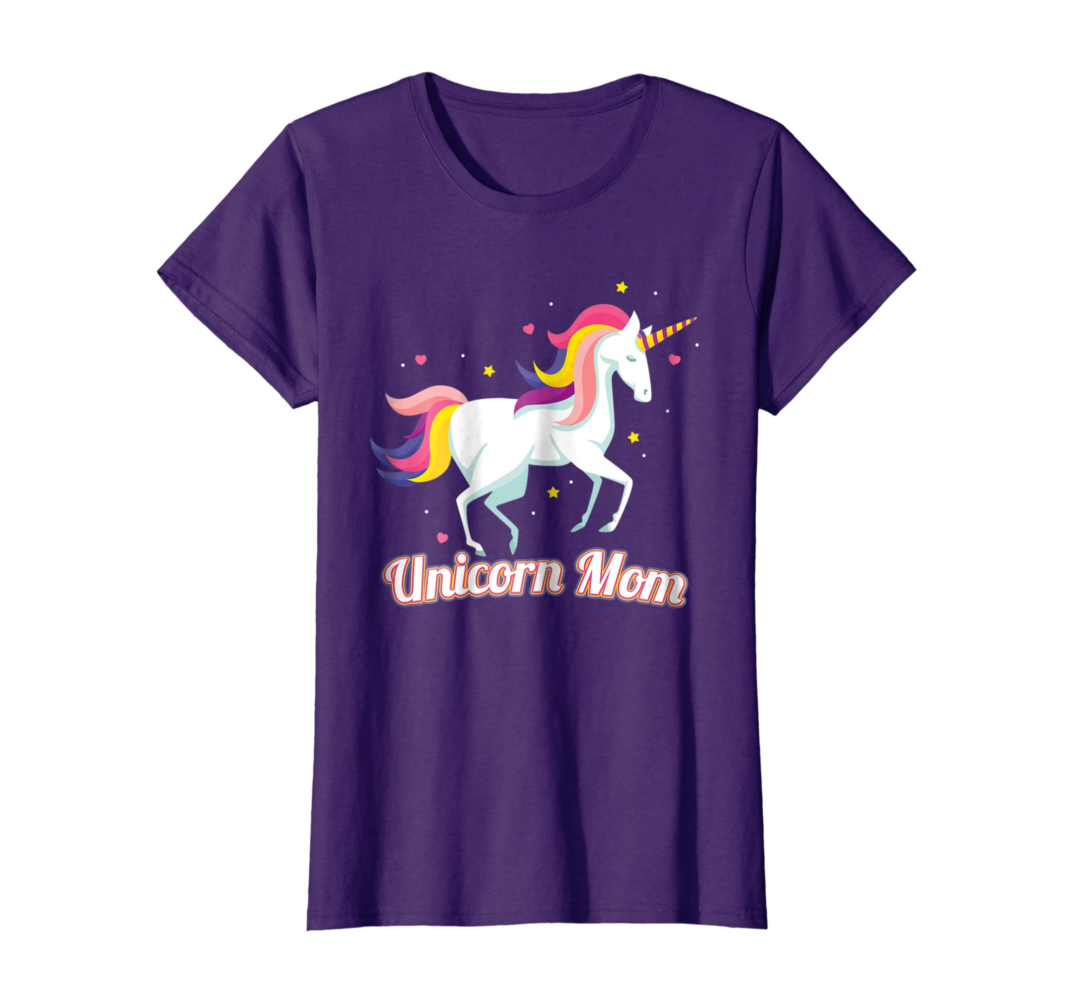 7e96b985 Amazon.com: Unicorn Mom Shirt Mother's Day Gift for Mama TShirt T-Shirt:  Clothing
