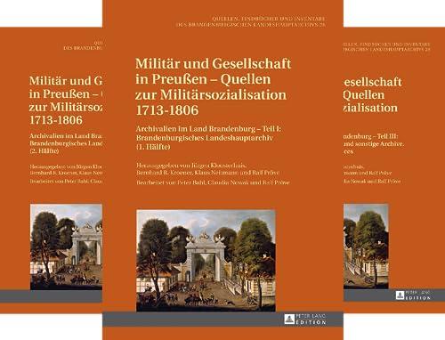 Quellen, Findbücher und Inventare des Brandenburgischen Landeshauptarchivs (Reihe in 14 Bänden)