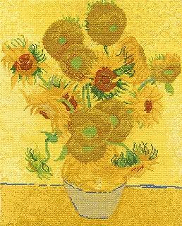 DMC-The National Gallery-Claude Monet-The mare a Trouville-Kit per ricamo a punto croce