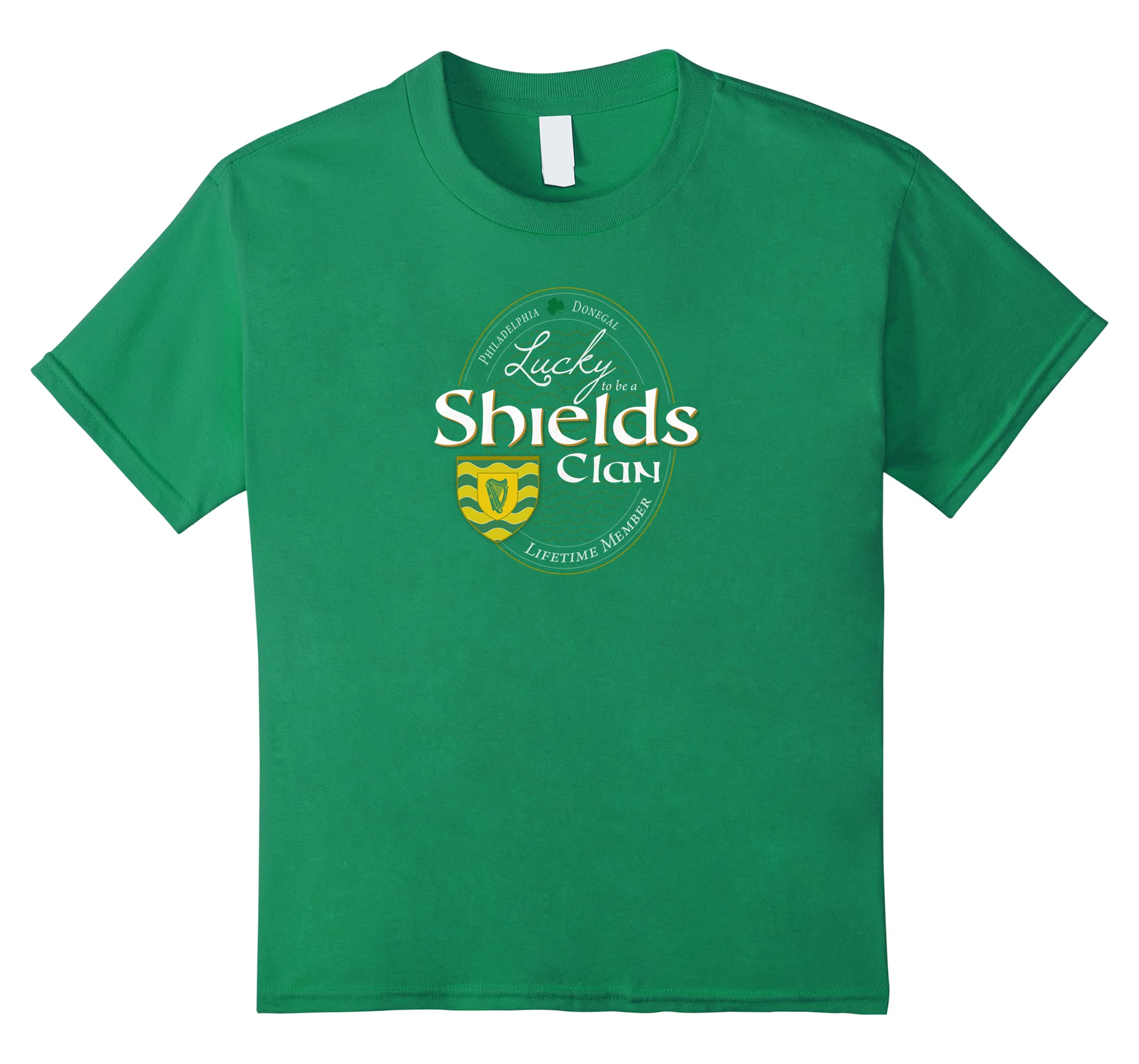 Irish T Shirt Shields Lifetime Member