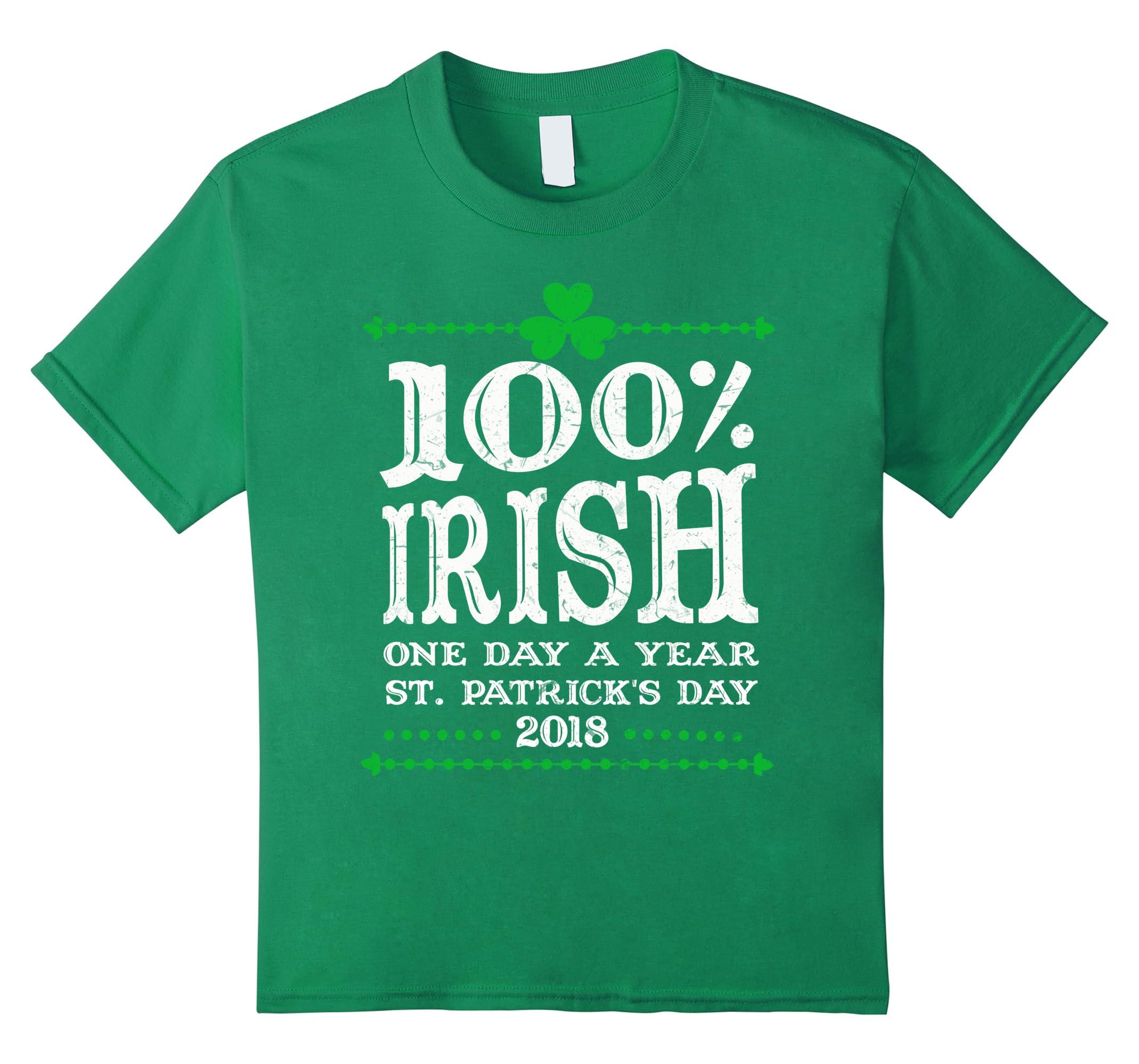 100 Irish Year Patricks Tshirt