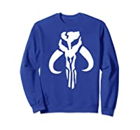 S Mandalorian Logo Shirts Sweatshirt Royal Blue