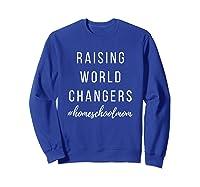 World Changer Shirts Sweatshirt Royal Blue