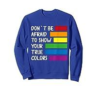 Queer Same Love Lgbtq Lgbt Funny Pride Parade Rainbow Shirt Sweatshirt Royal Blue