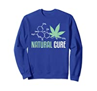 Natural Cure Cbd T-shirt Sweatshirt Royal Blue
