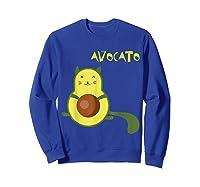 Avocato Funny Cute Cat Gift For Vegan Shirts Sweatshirt Royal Blue