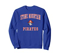 Stone Mountain High School Pirates Shirts Sweatshirt Royal Blue