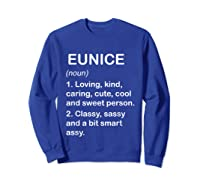 Definition Name Loving Kind Shirts Sweatshirt Royal Blue