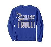 Vintage Drag Racing Funny 1/4 Mile Racer Gift T-shirt Sweatshirt Royal Blue