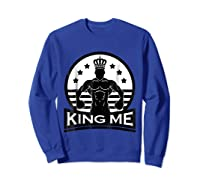 Grand Arte: King Me Boxing T-shirt Sweatshirt Royal Blue